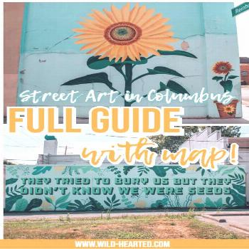 Columbus Ohio Murals | A Guide (with map!) to the Street Art in Columbus