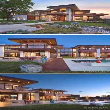 The Entasis Group have designed the Holly House, a new home in Cherry Hills Village, Colorado, that