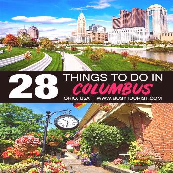 Wondering what to do in Columbus, Ohio? This travel guide will show you the top attractions, best a
