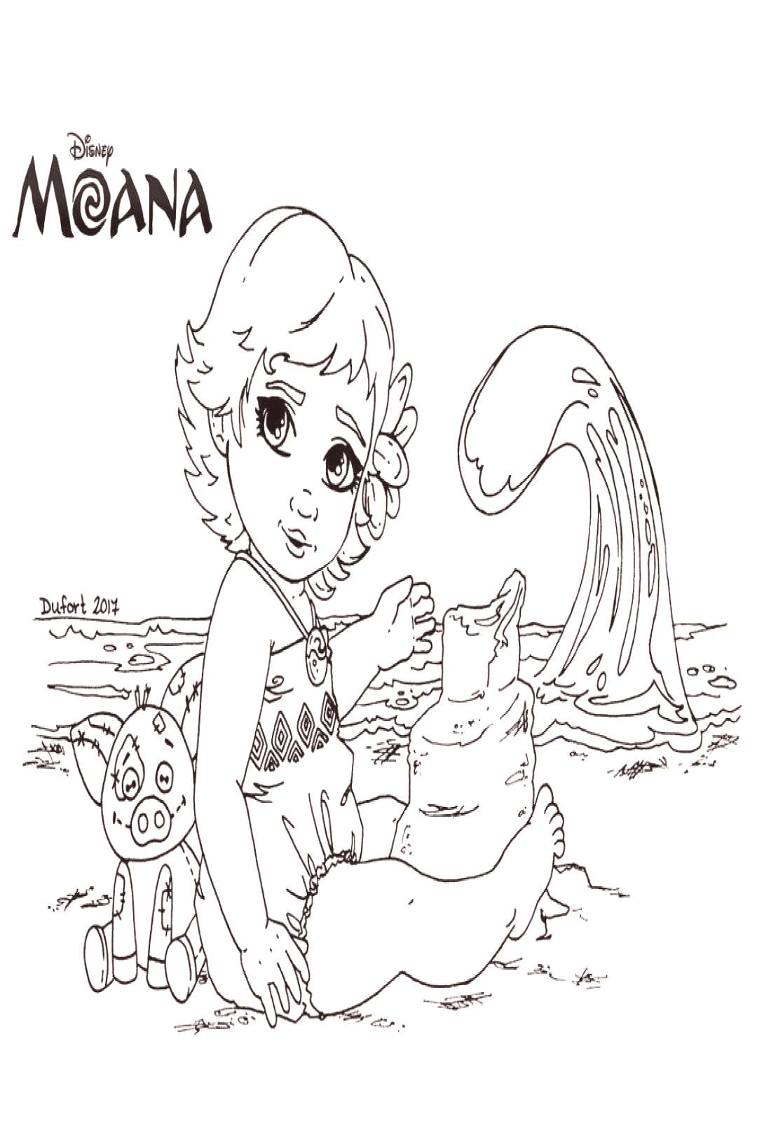 Disney Coloring Pages Moana Elegant Moana Lineart By Jadedragonne On Deviantart Coloring